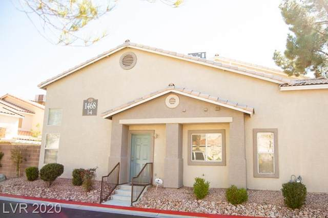 1468 Cublington #1, Las Vegas, NV 89102 (MLS #2174153) :: Signature Real Estate Group