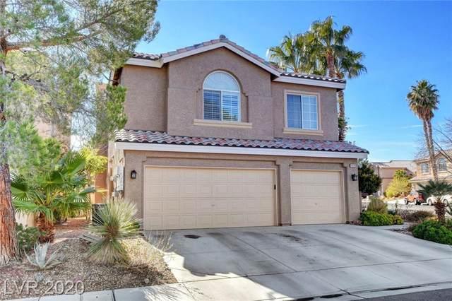 9225 Evergreen Canyon Drive, Las Vegas, NV 89134 (MLS #2174409) :: Signature Real Estate Group