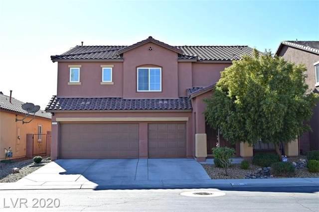 1105 Barron Creek, North Las Vegas, NV 89081 (MLS #2174484) :: The Lindstrom Group