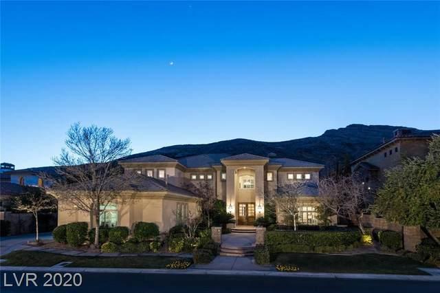 2885 Red Arrow Drive, Las Vegas, NV 89135 (MLS #2174587) :: Jeffrey Sabel