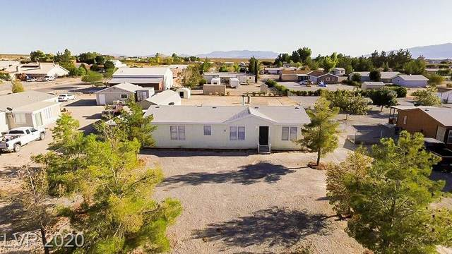 5701 E Saddletree, Pahrump, NV 89061 (MLS #2174658) :: The Lindstrom Group
