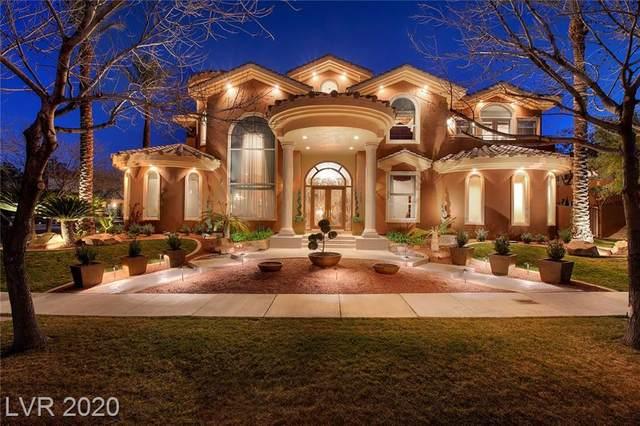 1432 Iron Hills Lane, Las Vegas, NV 89134 (MLS #2174668) :: Signature Real Estate Group