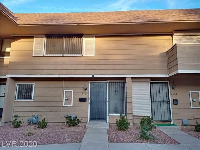 2488 Paradise Village, Las Vegas, NV 89120 (MLS #2174680) :: Trish Nash Team