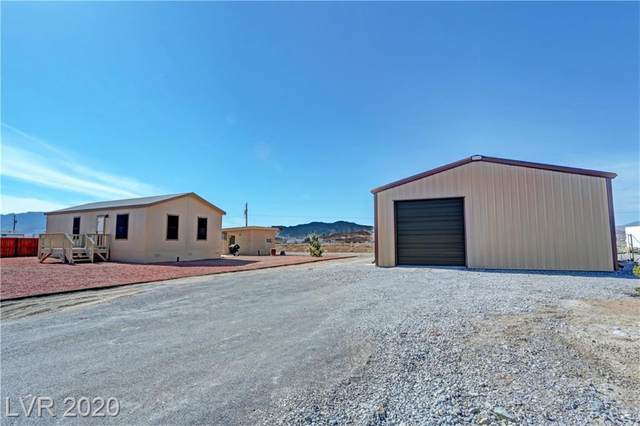 910 S O'connor, Pahrump, NV 89048 (MLS #2174841) :: Signature Real Estate Group