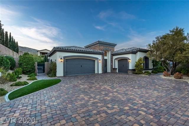 72 Olympia Chase, Las Vegas, NV 89141 (MLS #2175267) :: Signature Real Estate Group