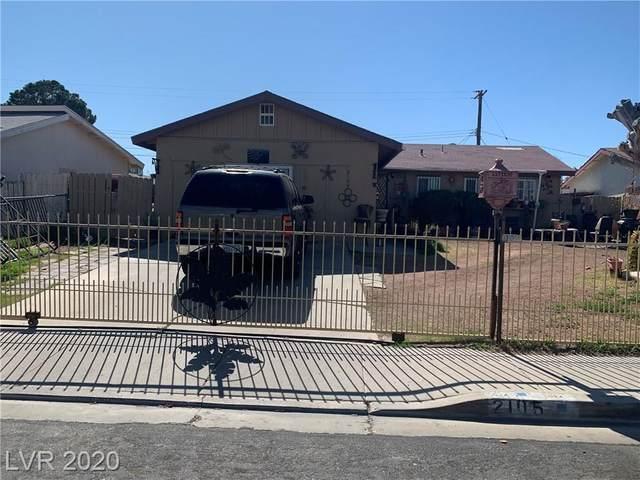 2105 Brooks Avenue, North Las Vegas, NV 89030 (MLS #2175290) :: Signature Real Estate Group