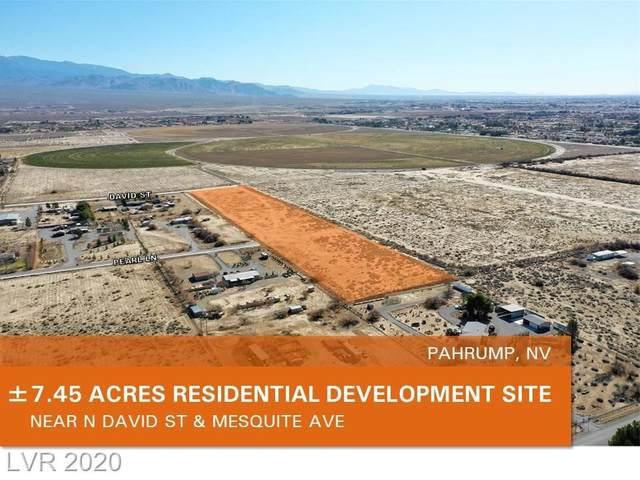 1600 W Adkisson, Pahrump, NV 89060 (MLS #2175490) :: Billy OKeefe | Berkshire Hathaway HomeServices