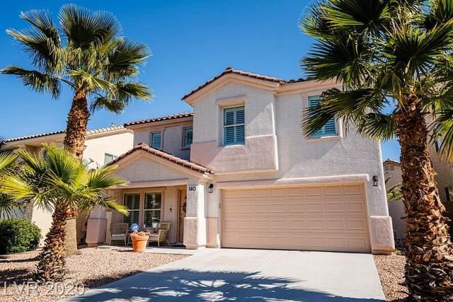 140 Rancho Maria Street, Las Vegas, NV 89178 (MLS #2175538) :: Signature Real Estate Group