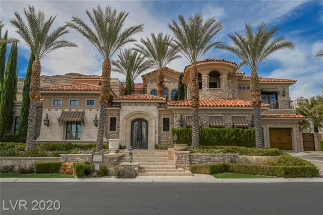 2689 Red Arrow Drive, Las Vegas, NV 89135 (MLS #2175711) :: Jeffrey Sabel