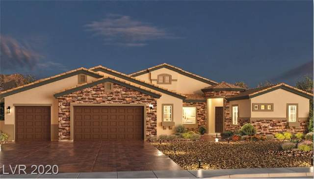 7060 Arabian Ridge Lot #46, Las Vegas, NV 89131 (MLS #2175812) :: Signature Real Estate Group