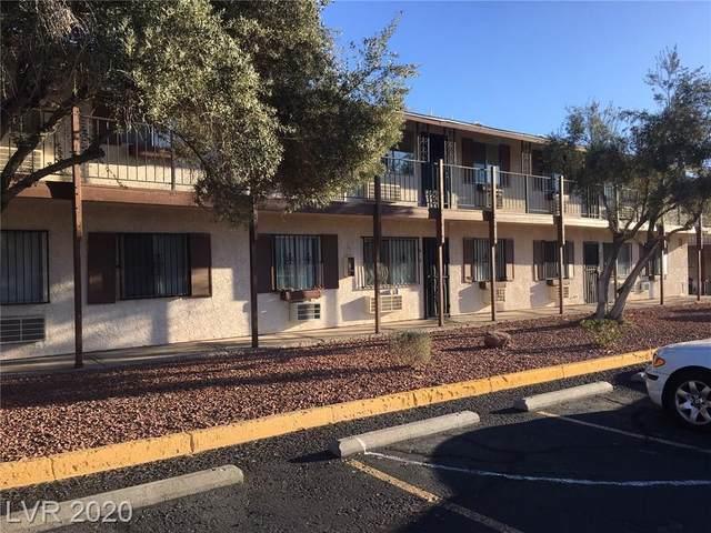 4955 Jeffreys Avenue #602, Las Vegas, NV 89119 (MLS #2176195) :: The Shear Team