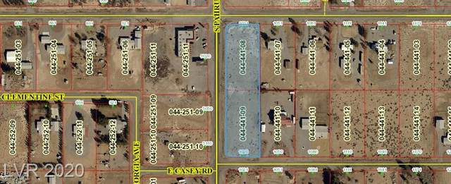 1021 E Manse Road, Pahrump, NV 89048 (MLS #2177240) :: Keller Williams Realty