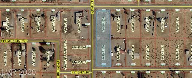 1020 E Casey, Pahrump, NV 89048 (MLS #2177244) :: Signature Real Estate Group