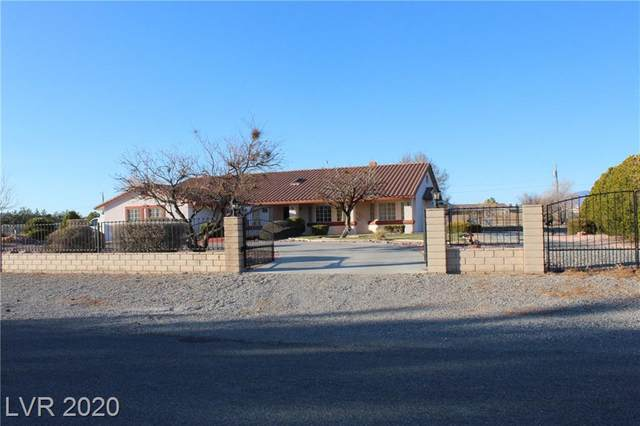 880 W Lupin Street, Pahrump, NV 89048 (MLS #2177506) :: The Lindstrom Group