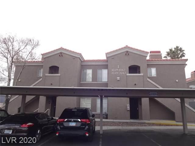 5525 Flamingo Road #1039, Las Vegas, NV 89103 (MLS #2177866) :: The Shear Team