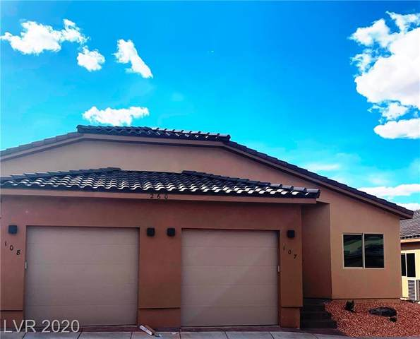 260 Haley Way #107, Mesquite, NV 89027 (MLS #2178359) :: Brantley Christianson Real Estate