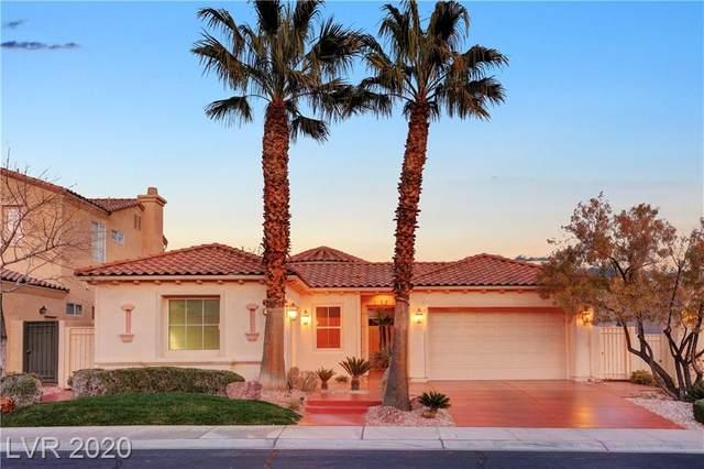 2846 Soft Horizon Way, Las Vegas, NV 89135 (MLS #2178970) :: Jeffrey Sabel