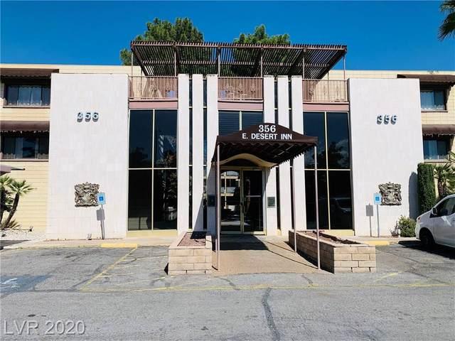 356 Desert Inn #206, Las Vegas, NV 89109 (MLS #2179950) :: The Perna Group