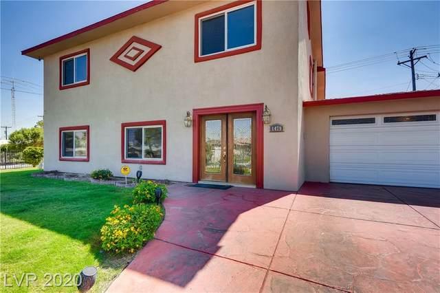 1479 Commanche Drive, Las Vegas, NV 89169 (MLS #2180020) :: Billy OKeefe | Berkshire Hathaway HomeServices
