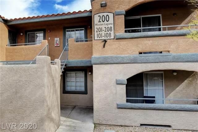 200 Mission Laguna #204, Las Vegas, NV 89107 (MLS #2180225) :: Billy OKeefe | Berkshire Hathaway HomeServices
