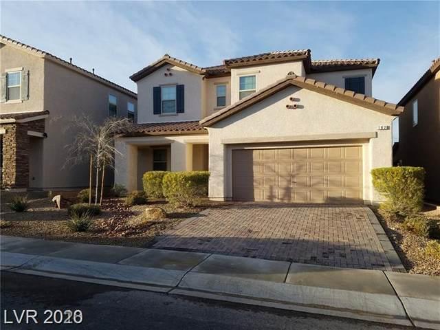 182 White Mule, Las Vegas, NV 89148 (MLS #2181198) :: The Lindstrom Group