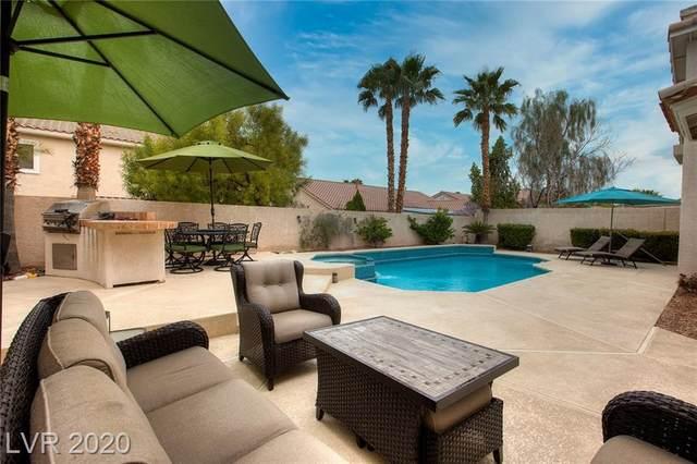 9655 Mariner Village, Las Vegas, NV 89147 (MLS #2182817) :: Jeffrey Sabel
