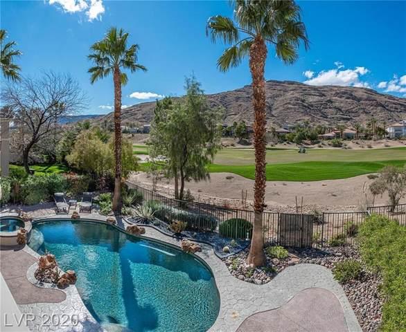 2695 Grassy Spring Place, Las Vegas, NV 89135 (MLS #2183302) :: Jeffrey Sabel