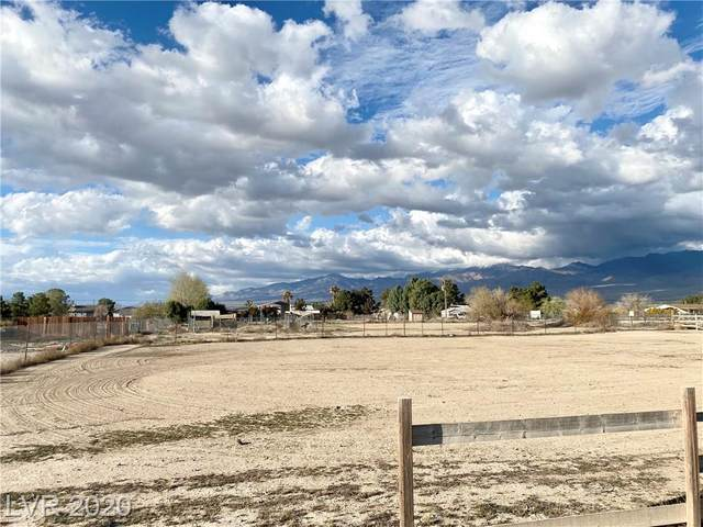 390 W Mcmurray Drive, Pahrump, NV 89060 (MLS #2183478) :: The Lindstrom Group