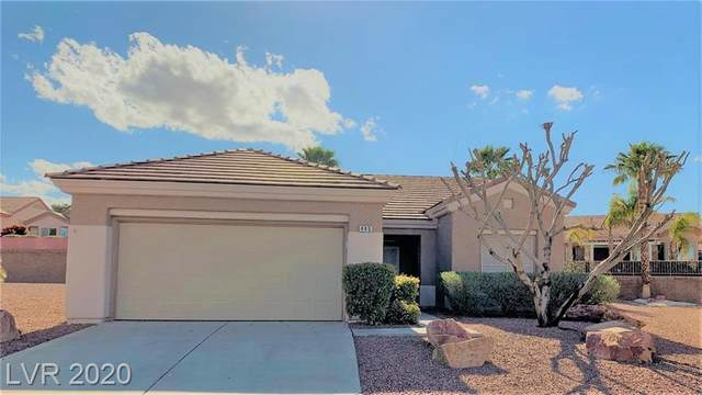 445 Pelican Bay Court, Henderson, NV 89012 (MLS #2183537) :: The Lindstrom Group