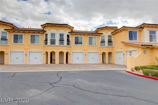 18 Via Visione #106, Henderson, NV 89011 (MLS #2184007) :: Brantley Christianson Real Estate