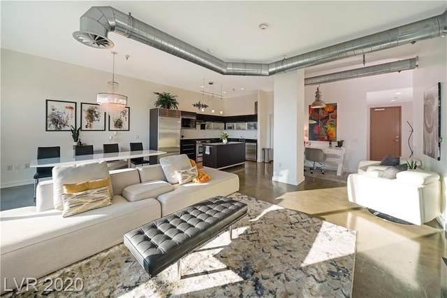 200 Hoover Avenue #805, Las Vegas, NV 89101 (MLS #2184213) :: Billy OKeefe | Berkshire Hathaway HomeServices