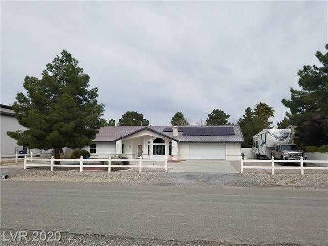 1470 Blackhorn Street, Pahrump, NV 89048 (MLS #2184402) :: The Lindstrom Group