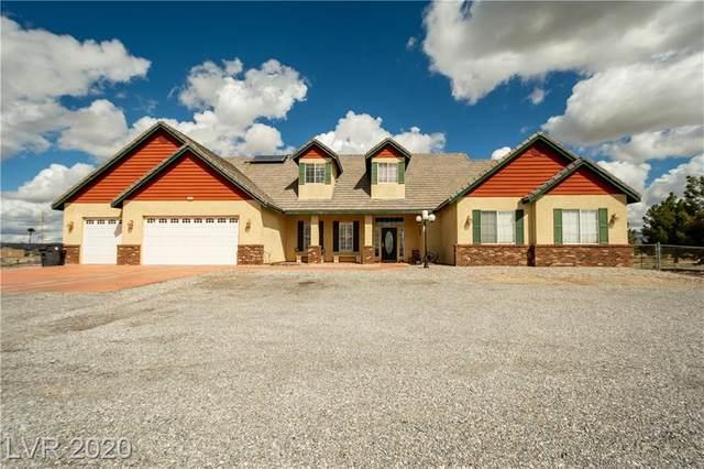 1680 E Elderberry Street, Pahrump, NV 89048 (MLS #2185126) :: The Lindstrom Group