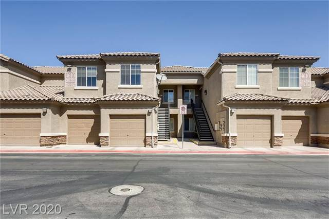 4610 Puglia #202, North Las Vegas, NV 89084 (MLS #2185833) :: Signature Real Estate Group