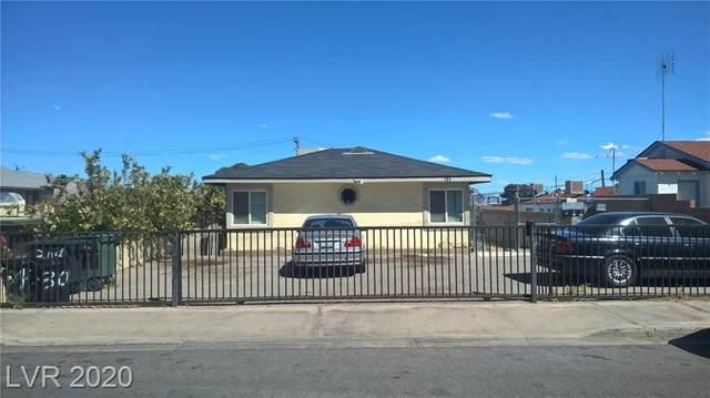 304 14th Street, Las Vegas, NV 89101 (MLS #2186124) :: The Lindstrom Group