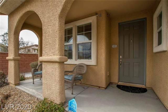 8409 Insignia Ave #105, Las Vegas, NV 89178 (MLS #2186865) :: The Lindstrom Group