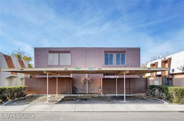 3452 Villa Knolls West, Las Vegas, NV 89120 (MLS #2187074) :: Trish Nash Team