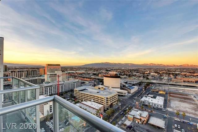 150 N Las Vegas Boulevard #2512, Las Vegas, NV 89101 (MLS #2187229) :: Jeffrey Sabel