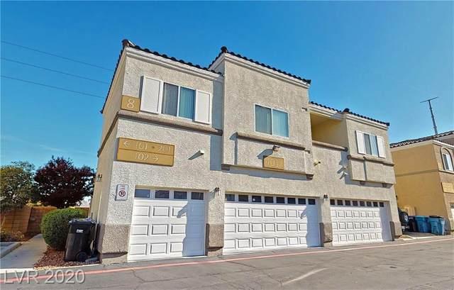4032 E Smokey Fog Avenue #101, North Las Vegas, NV 89081 (MLS #2187469) :: The Shear Team