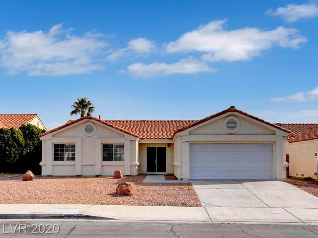 2749 Pinewood Avenue, Henderson, NV 89074 (MLS #2188113) :: Signature Real Estate Group