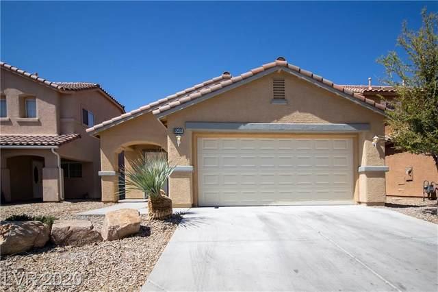 6549 Cedar Waxwing, North Las Vegas, NV 89084 (MLS #2188323) :: Brantley Christianson Real Estate