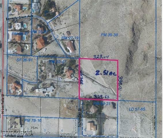 660 Schrieber, Las Vegas, NV 89110 (MLS #2188731) :: Brantley Christianson Real Estate