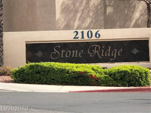 2000 Gravel Hill #106, Las Vegas, NV 89117 (MLS #2188785) :: Jeffrey Sabel