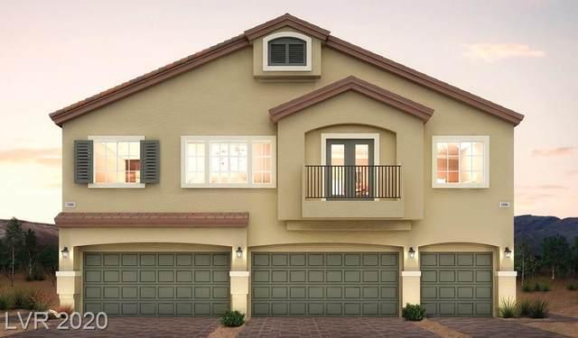 4705 Ridgeley Ave Street #101, North Las Vegas, NV 89084 (MLS #2189103) :: Performance Realty
