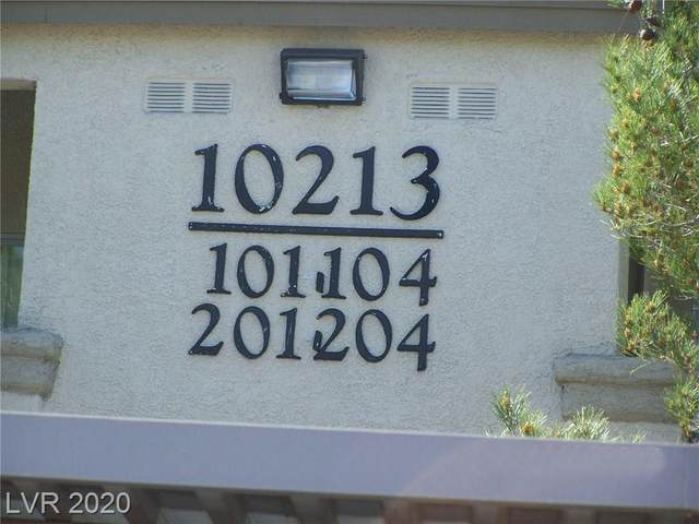 10213 King Henry Avenue #202, Las Vegas, NV 89144 (MLS #2189137) :: ERA Brokers Consolidated / Sherman Group