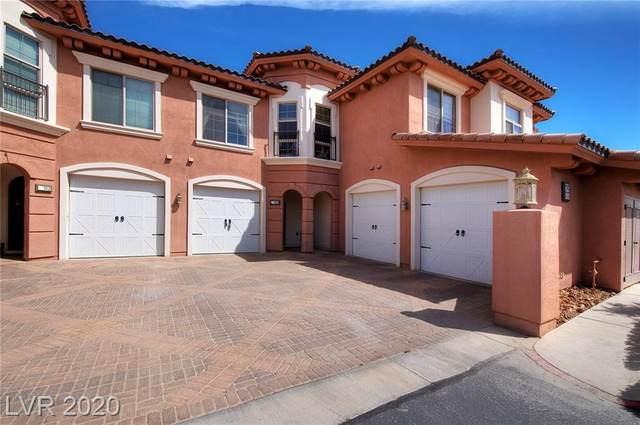 25 Via Visione #103, Henderson, NV 89011 (MLS #2189161) :: Signature Real Estate Group
