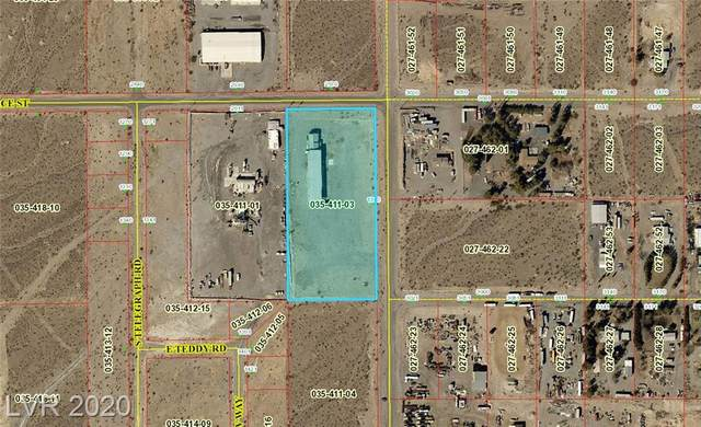 1340 S Higley, Pahrump, NV 89048 (MLS #2190418) :: The Lindstrom Group