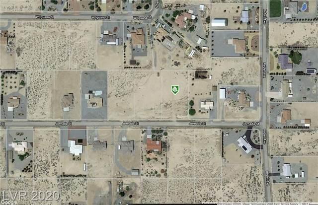 1190 Jornada, Pahrump, NV 89048 (MLS #2191150) :: Billy OKeefe   Berkshire Hathaway HomeServices