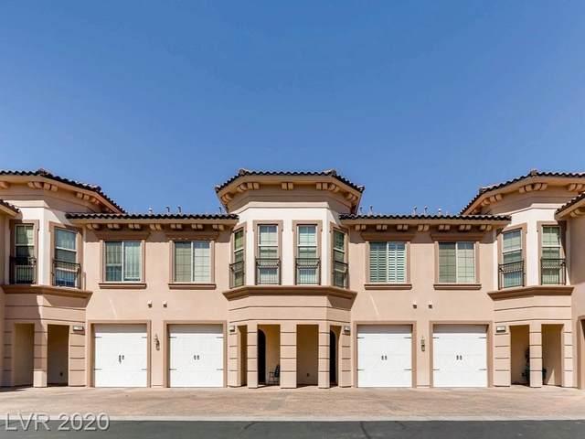 36 Via Vasari #104, Henderson, NV 89011 (MLS #2191364) :: Signature Real Estate Group
