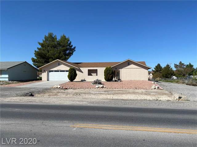 2690 S Dandelion, Pahrump, NV 89048 (MLS #2191870) :: Signature Real Estate Group